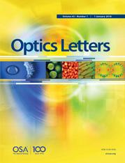 Optics Letters