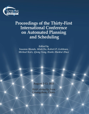 Proceedings of the International Conference on Automated Planning and Scheduling (ICAPS)