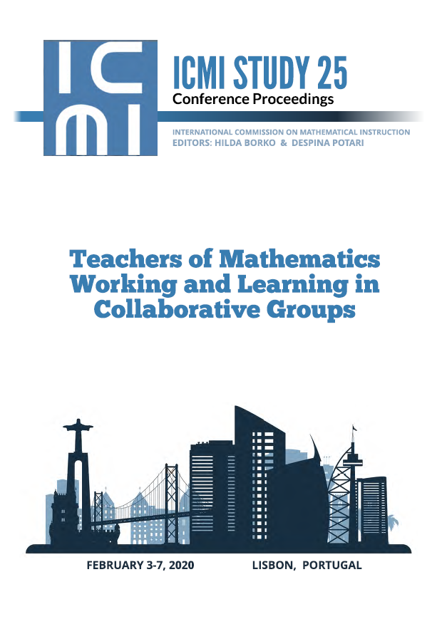 ICMI STUDY 25 Conference Proceedings