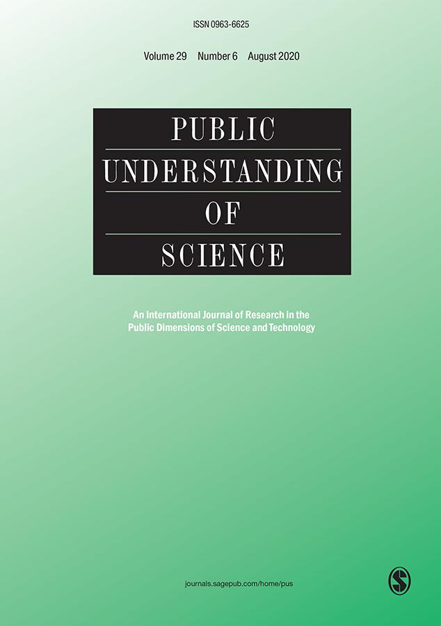 Public Understanding of Science