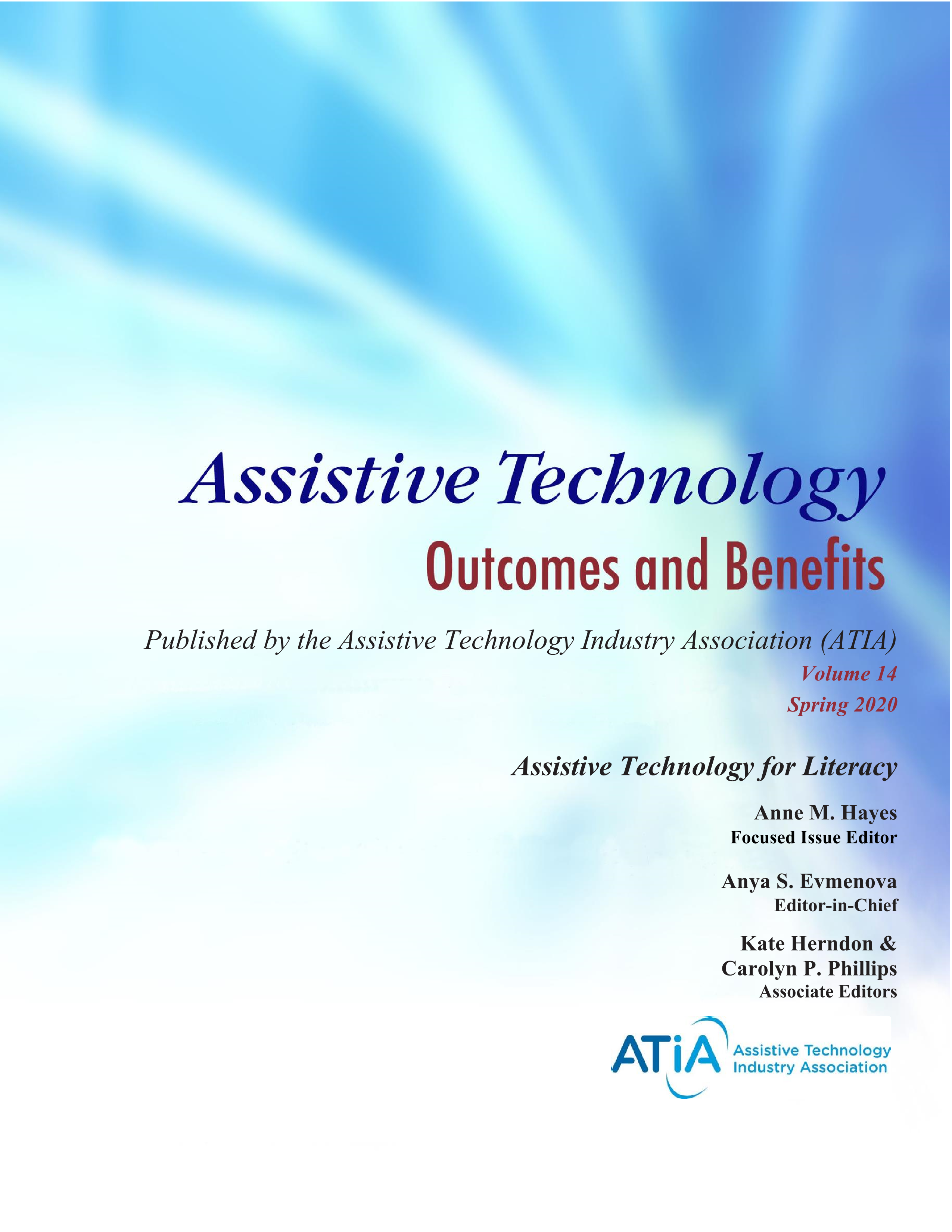 Assistive Technology Outcomes & Benefits