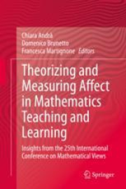 Theorizing and Measuring Affect in Mathematics Teaching and Learning