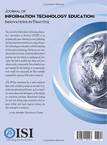 Journal of Information Technology Education : Innovations in Practice