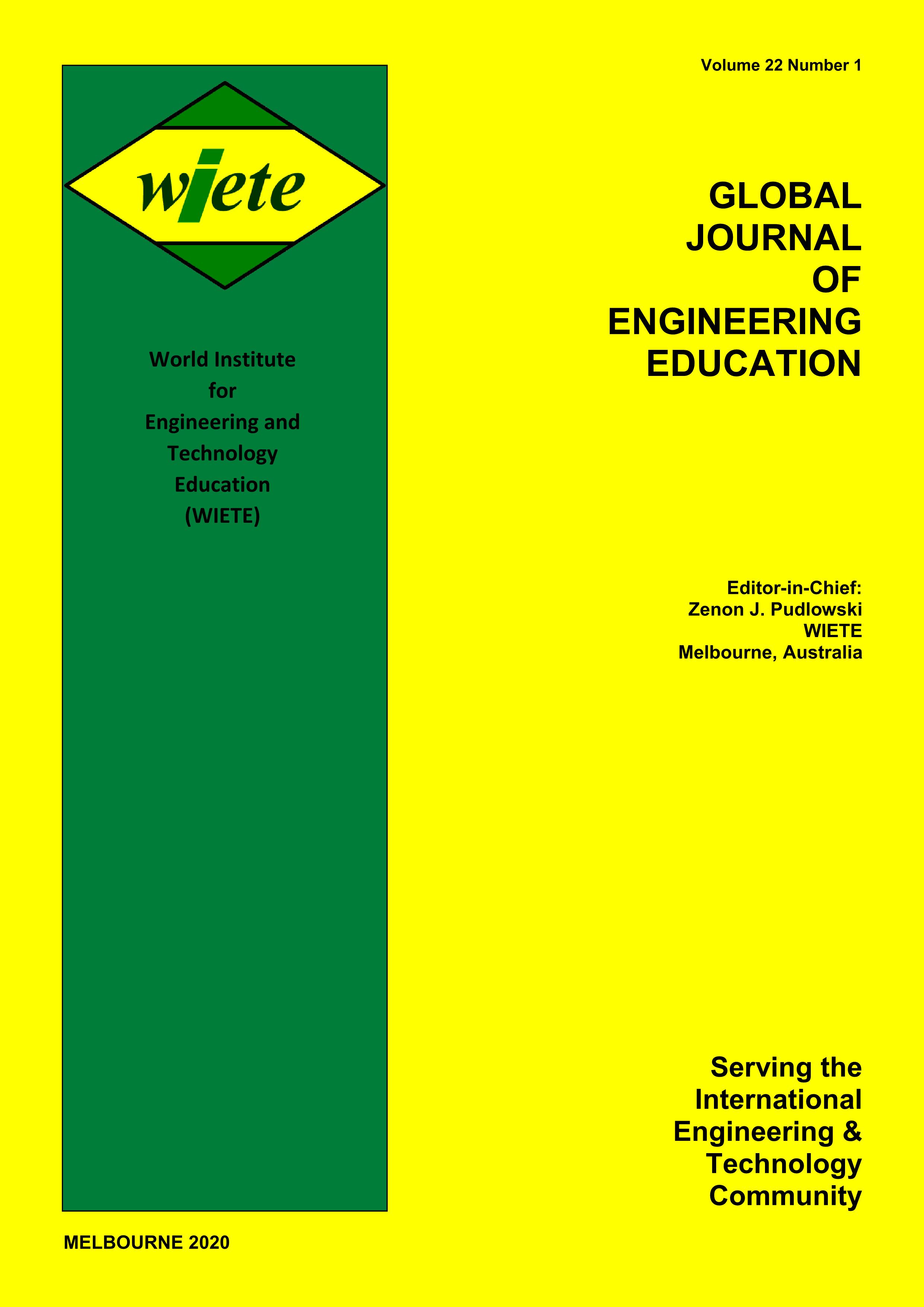 Global Journal of Engineering Education