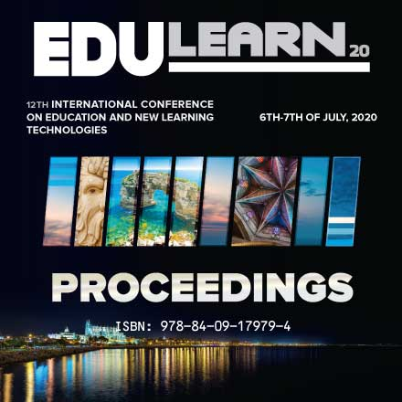 The 12th Annual International Conference on Education and New Learning Technologies (EDULEARN20)