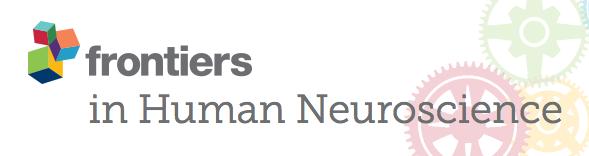 Frontiers in Human Neuroscience