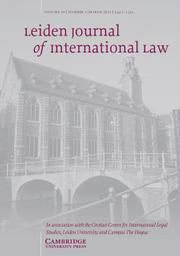 Leiden Journal of International Law