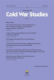 Journal of Cold War Studies