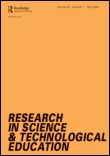 Research in Science & Technological Education