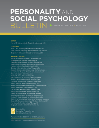 Personality and Social Psychology Bulletin