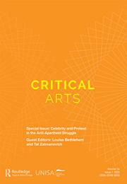 Critical Arts - South-North Cultural and Media Studies