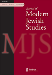 Journal of Modern Jewish Studies