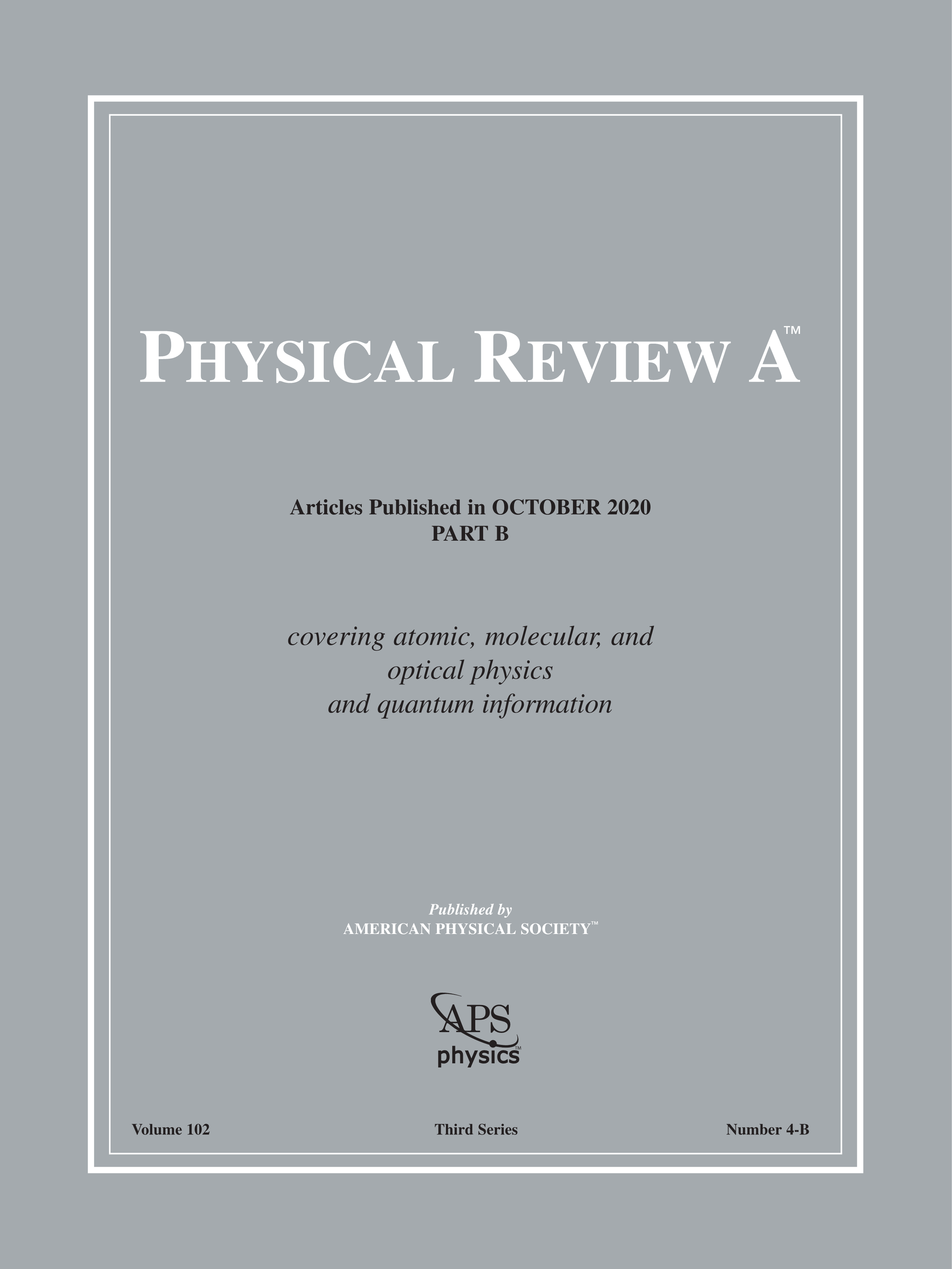 Physical Review A