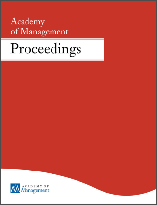 Academy of Management Annual Meeting Proceedings