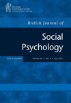 The British Journal of Social Psychology