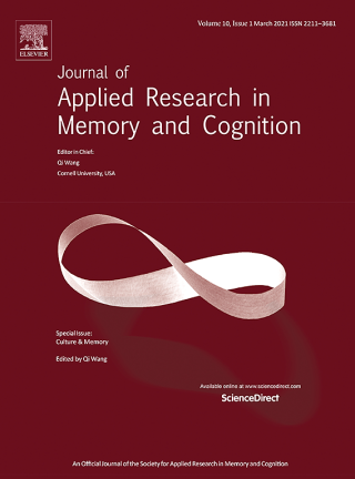Journal of Applied Research in Memory and Cognition
