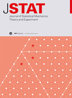 Journal of Statistical Mechanics: Theory and Experiment
