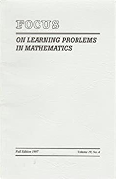 Focus on Learning Problems in Mathematics
