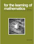 For the Learning of Mathematics