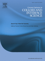 Current Opinion in Colloid and Interface Science