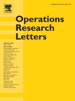 Operations Research Letters