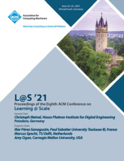 L@S '21: Proceedings of the Eighth ACM Conference on Learning @ Scale